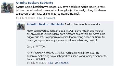 status facebook buat indosat m2