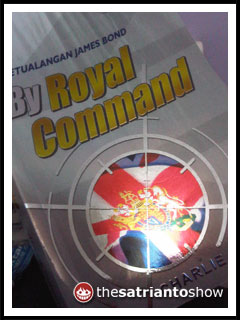 novel young james bond: by royal command