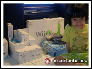 Nintendo Wii dari Pak Gendut