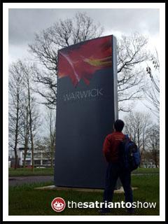 Welcome to Warwick, Joe Satrianto